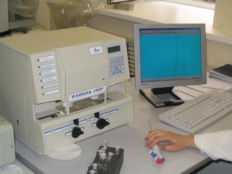 Анализ воды, химический анализ воды, сдать воду на